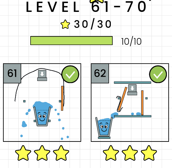 攻略 解答 happy glass level 61 70